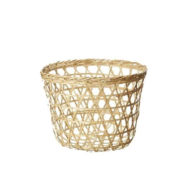 "Fletkurv, naturflet/large ""Collect-basket"""