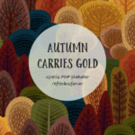 Autumn carries gold (gratis pdf. plakater)